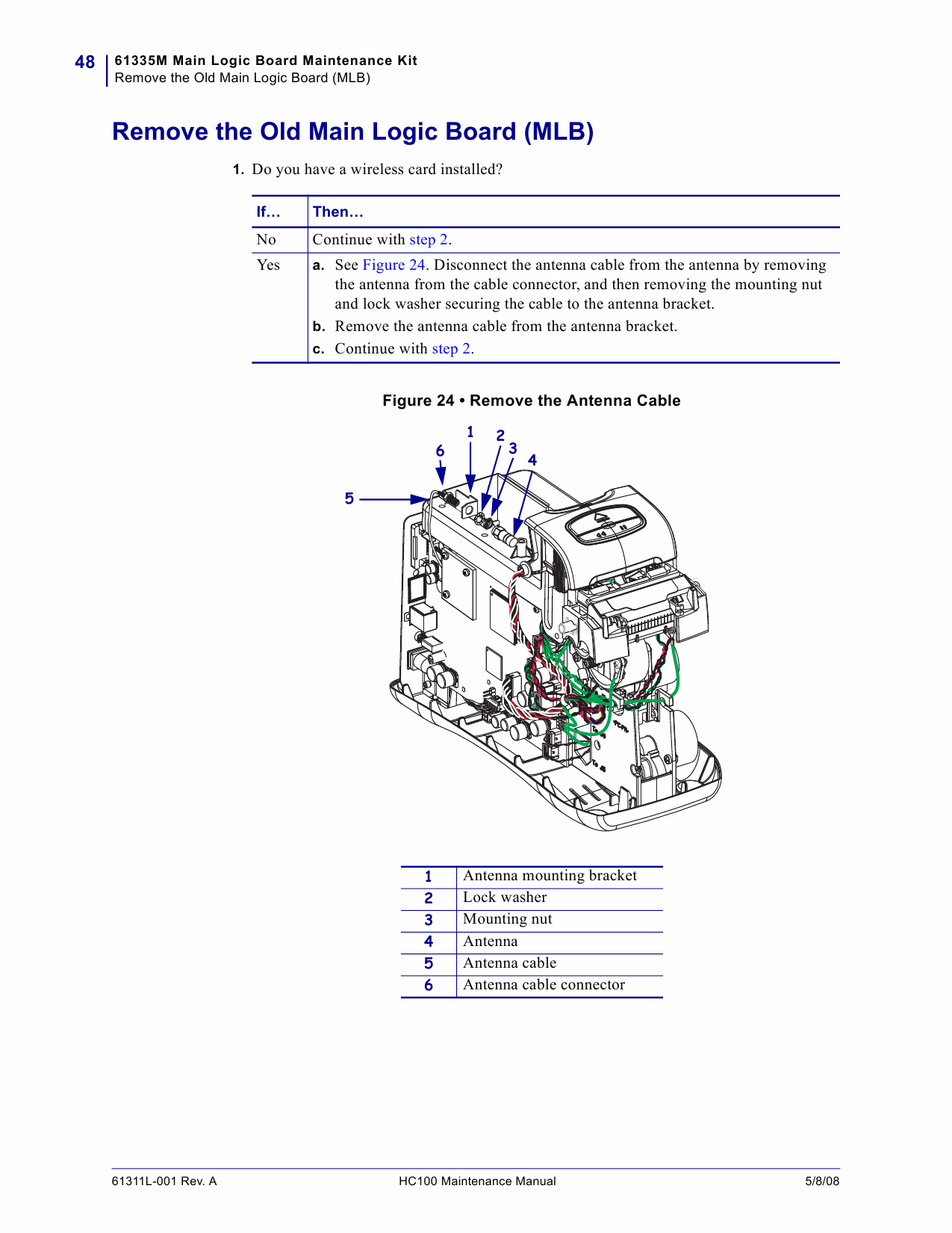 Zebra Label HC100 Maintenance Service Manual-3
